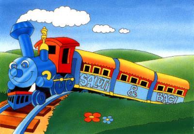 Choo choo train | Il blog dell'inglese per i bambini Cantando In English
