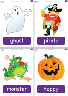 halloween-flashcards