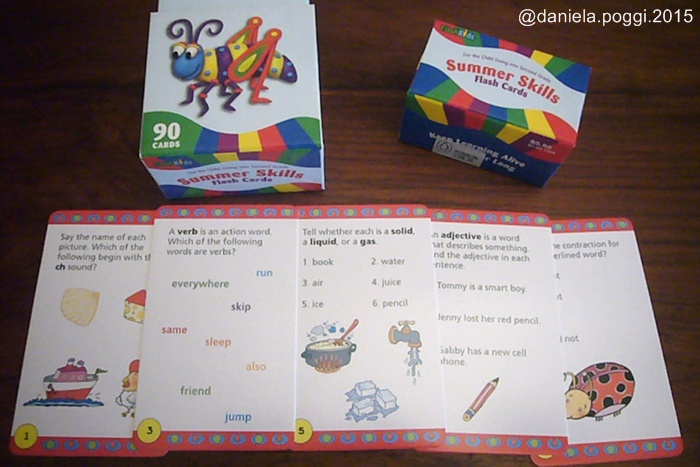 Summer Skills Flash Cards