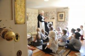 Preston manor Victorian School role play visit