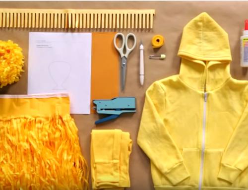 Video per realizzare un costume da leone