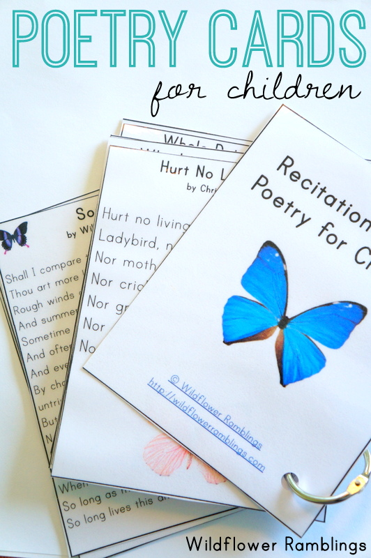 poesie per bambini
