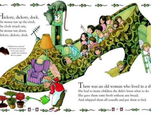 Nursery rhyme: Old woman that lived in a shoe
