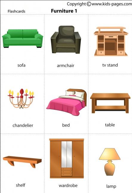 Dove trovare belle flashcards in inglese il blog dell for Materiali da costruzione della casa