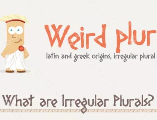 Plurali irregolari in inglese