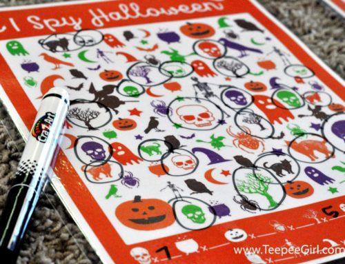 Gioco da stampare: I spy Halloween