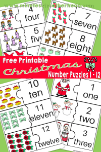 Free-Printable-Christmas-Themed-Number-Puzzles
