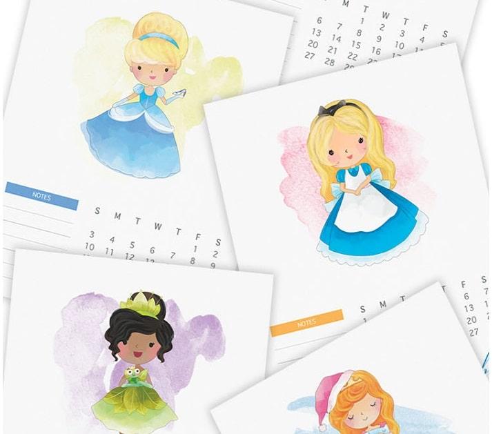 calendario per bambini