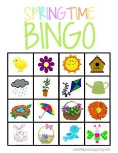 spring-time-bingo