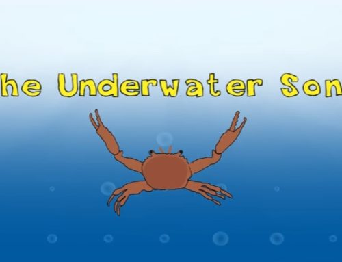 Canzone sul mare in inglese: The Underwater Song
