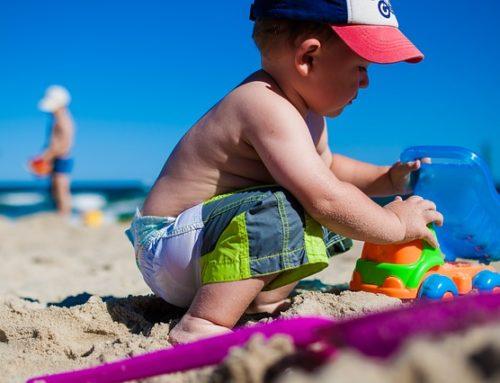 Baby Rhyme per la spiaggia
