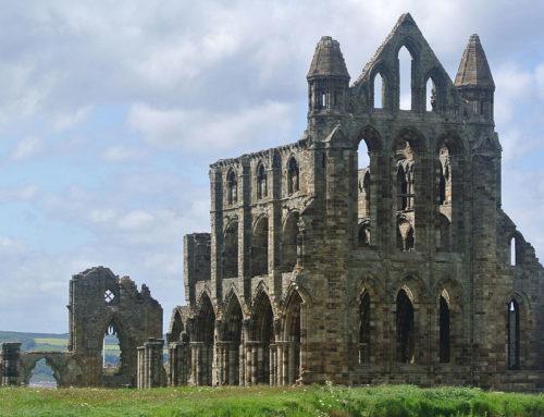Whitby Abbey che ispirò il racconto di Dracula