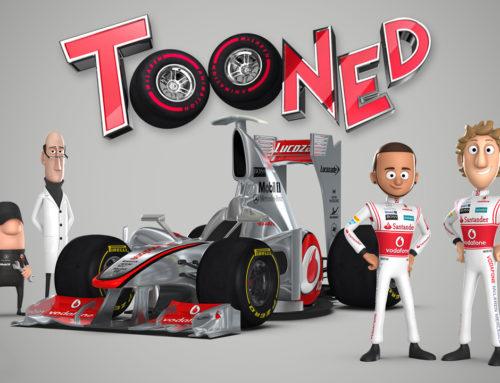 Cartoni in inglese: McLaren Tooned