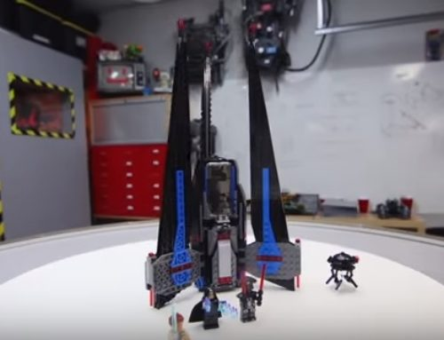 I video in inglese del canale Lego