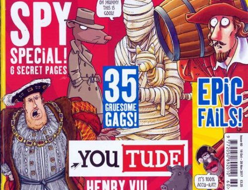 Rivista in inglese: Horrible Histories