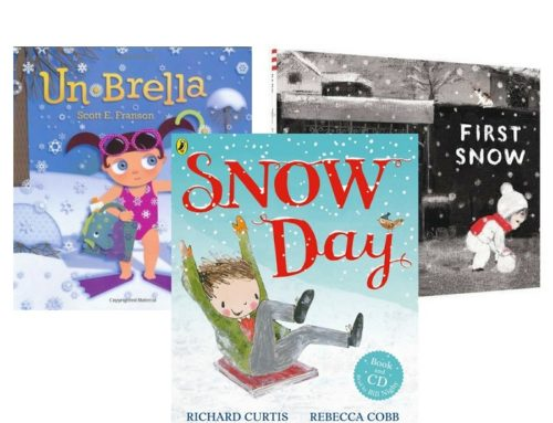 3 Libri in inglese sulla neve