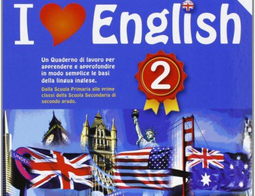 Quaderno di lavoro per imparare l'inglese