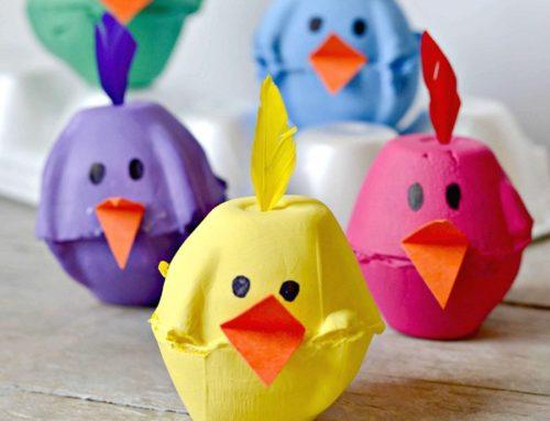 Lavoretti di Pasqua: un messaggio segreto