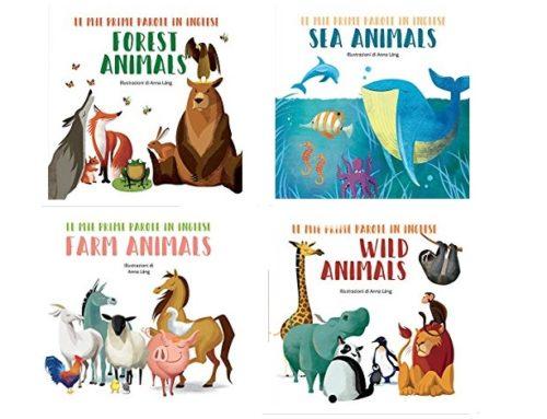 Le mie prime parole in inglese: i libri di Anna Làng