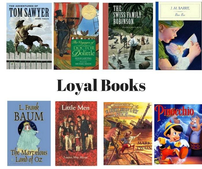 Audiolibri in inglese gratis su Loyal Books
