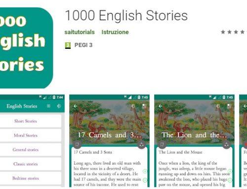 App: 1000 English Stories
