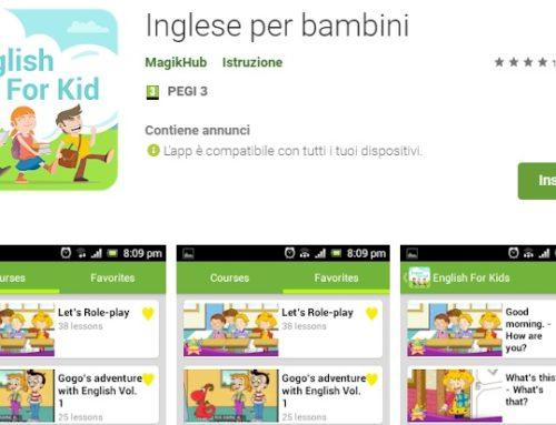 App per esercitare l'ascolto della lingua inglese