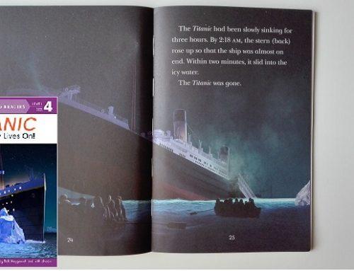 Titanic – libro di livello 4