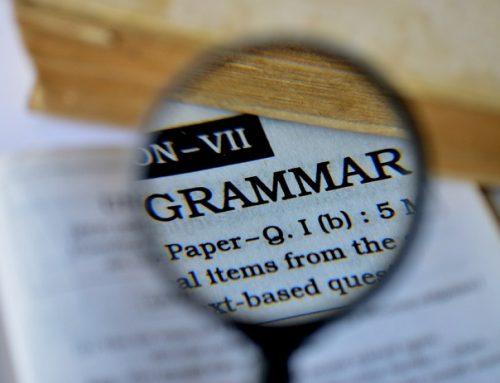 Infografiche utili sulla grammatica inglese