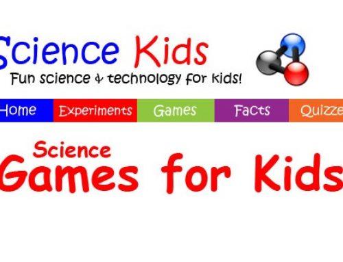 Sito di scienze in inglese per bambini