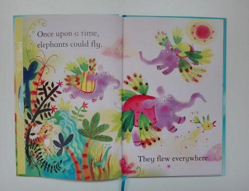 Leggenda in inglese per bambini: gli elefanti con le ali