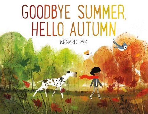 Libro in inglese sull'autunno: Goodbye Summer, Hello Autumn