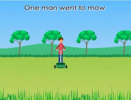 Canzoncina sui numeri: One man went to mow