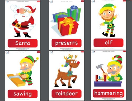 Flashcards a tema Natale