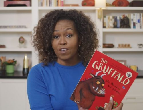 Iniziativa di lettura ad alta voce: Mondays with Michelle Obama