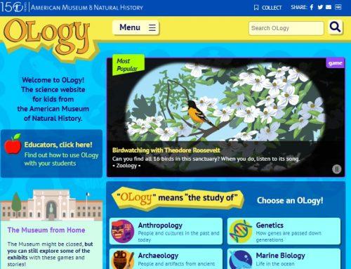 Il Museo Americano di Storia Naturale ha un sito per bambini tutto da esplorare
