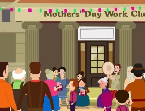 Video in inglese sulla storia della festa della mamma