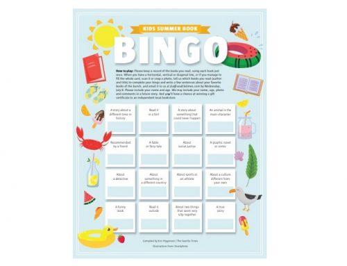 Book Bingo: un gioco per invogliare a leggere in inglese