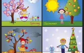 stagioni in inglese