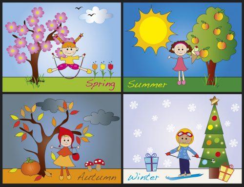 Come si chiamano le stagioni in inglese?