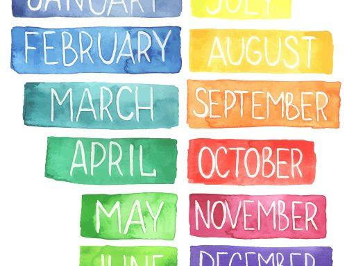 Mesi dell'anno in inglese: come insegnarli ai bambini