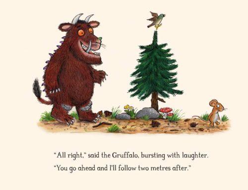 Gruffalo: libro per bambini in inglese