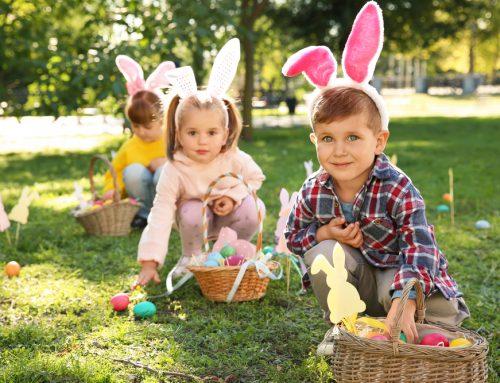 Caccia alle uova: idee per Pasqua