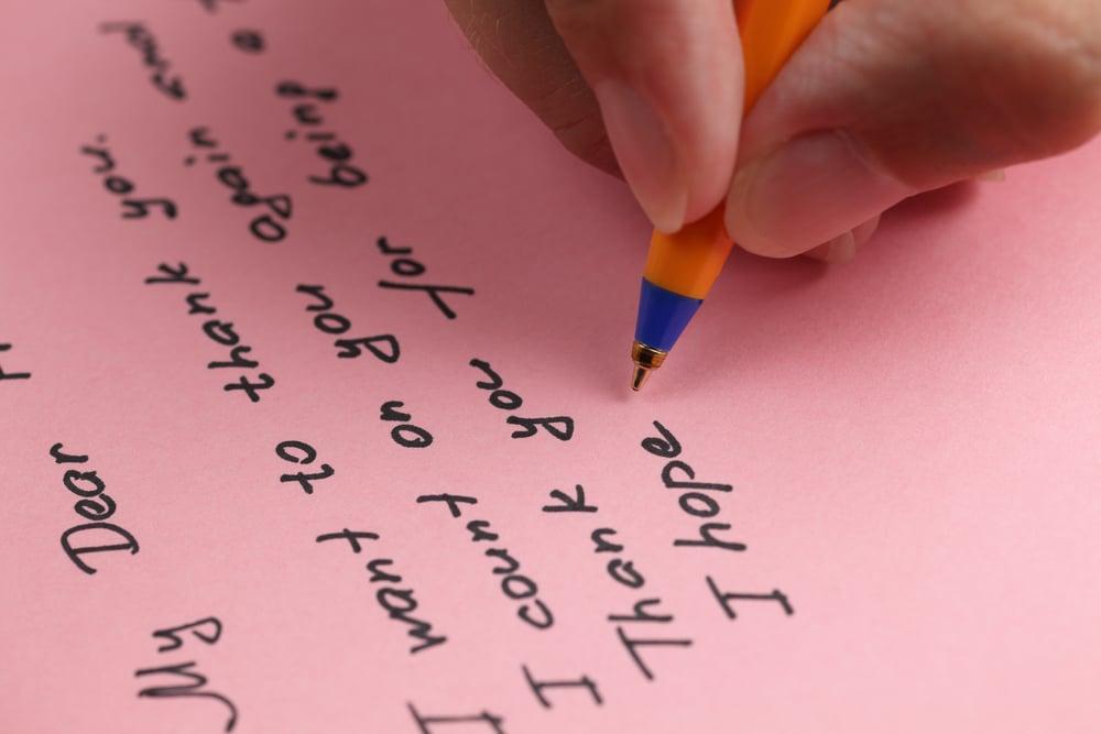 lettera in inglese